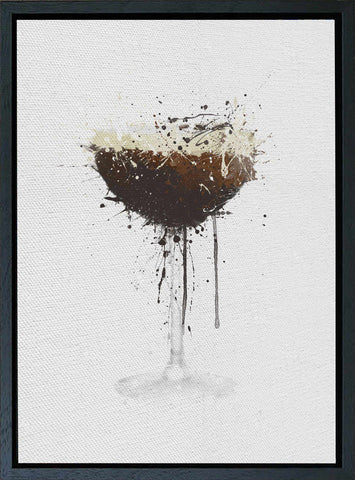 Premium Canvas Wall Art Print Espresso Martini Cocktail-We Love Prints