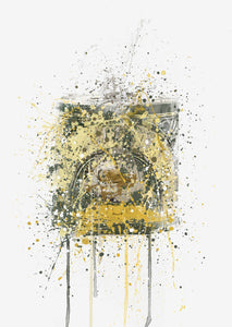 Golden Syrup Wall Art Print-We Love Prints