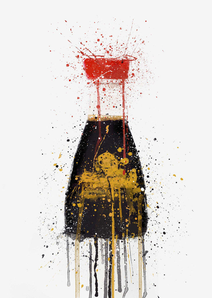 Soy Sauce Wall Art Print-We Love Prints