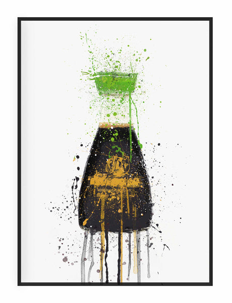 Soy Sauce Reduced Salt Wall Art Print-We Love Prints