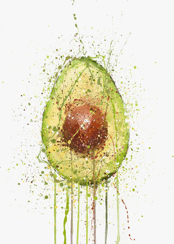 Avocado Fruit Wall Art Print