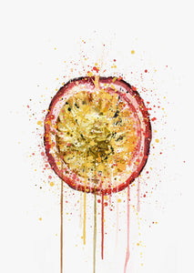 Passionfruit Fruit Wall Art Print-We Love Prints