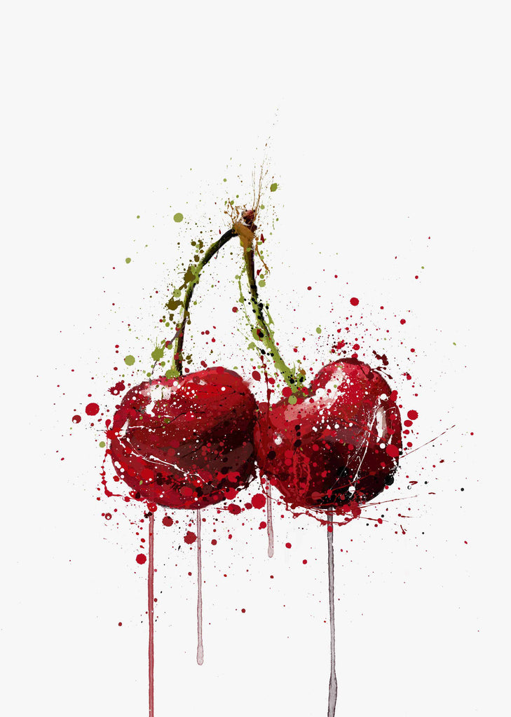 Cherry Fruit Wall Art Print-We Love Prints