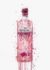 Gin Bottle Wall Art Print 'Hard Candy'-We Love Prints