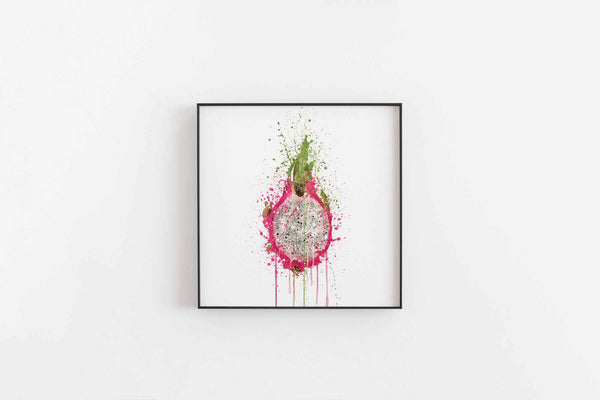 Dragon Fruit Wall Art Print-We Love Prints