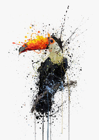 Toucan Wall Art Print-We Love Prints