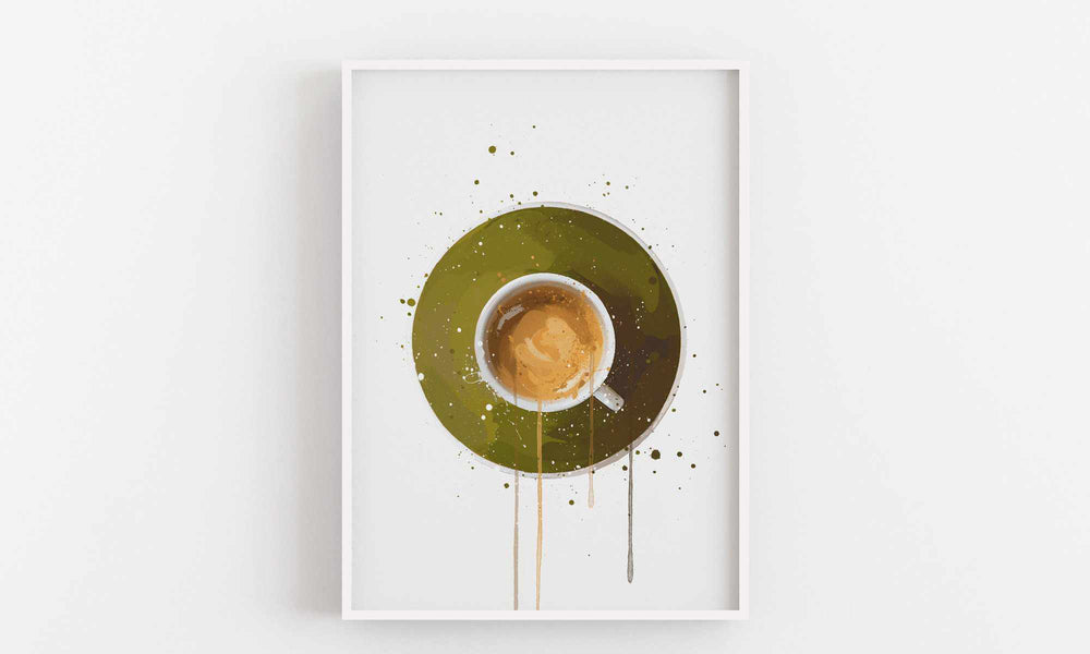 Coffee Wall Art Print 'Espresso'-We Love Prints