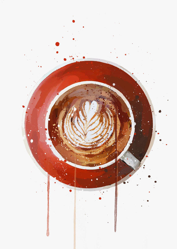 Coffee Wall Art Print