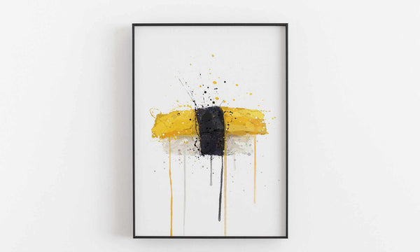 Sushi Wall Art Print 'Tamago Nigiri'-We Love Prints