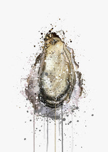 Seafood Wall Art Print 'Oyster'-We Love Prints