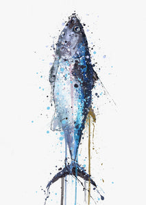 Seafood Wall Art Print 'Tuna'-We Love Prints