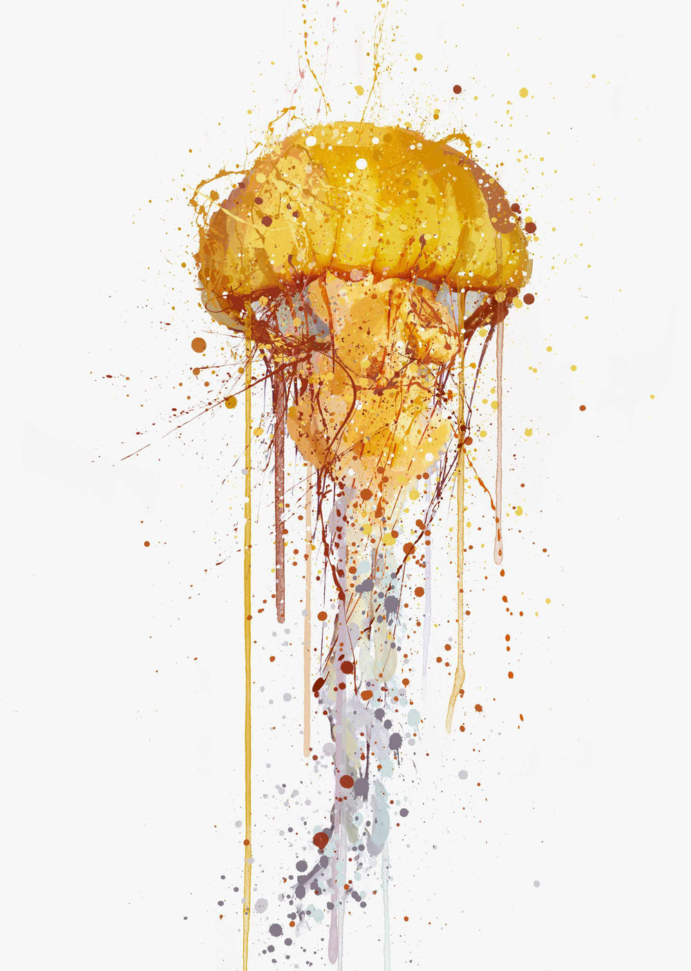 Sea Creature Wall Art Print 'Jellyfish'-We Love Prints