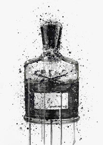Fragrance Bottle Wall Art Print 'Granite'-We Love Prints