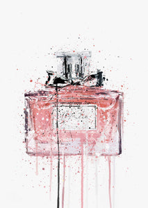 Fragrance Bottle Wall Art Print 'Candy Floss'-We Love Prints