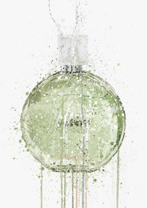 Fragrance Bottle Wall Art Print 'Spring Meadow'-We Love Prints
