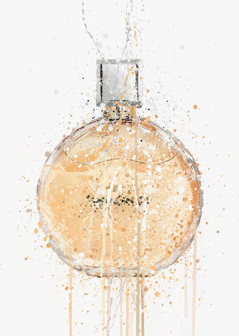 Fragrance Bottle Wall Art Print 'Nectarine'-We Love Prints