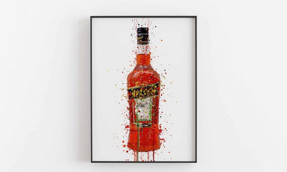 Liquor Bottle Wall Art Print 'Italia'-We Love Prints