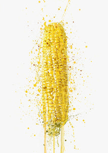 Corn On The Cob Vegetable Wall Art Print-We Love Prints