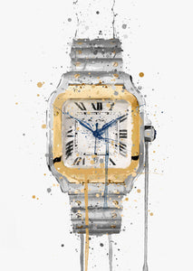 Wrist Watch Wall Art Print 'Fusion'