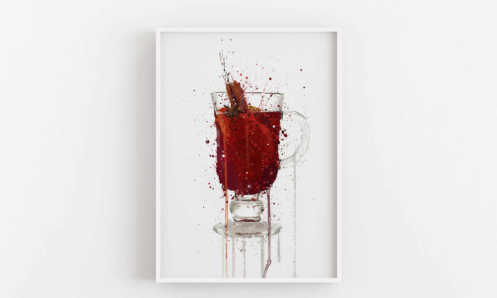 Mulled Wine Wall Art Print