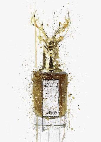 Fragrance Bottle Wall Art Print 'Kingdom'