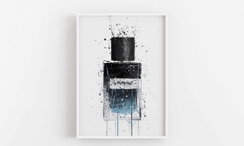 Fragrance Bottle Wall Art Print 'Mr. Electric'