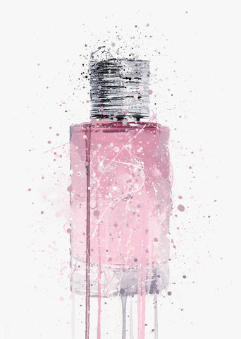Fragrance Bottle Wall Art Print 'Twilight'
