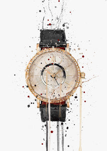 Wrist Watch Wall Art Print 'Atlas'