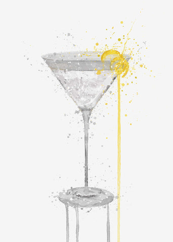 Martini Cocktail Wall Art Print