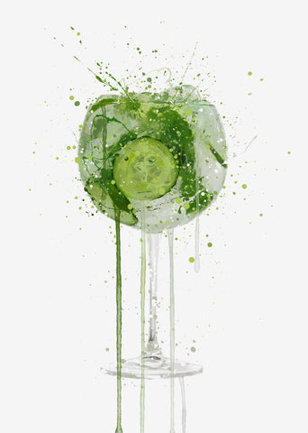Gin and Tonic Wall Art Print 'Goblet 2.0'