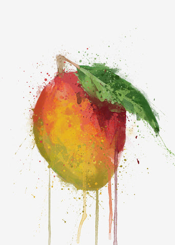 Mango Fruit Wall Art Print