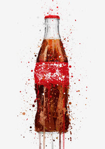 Soda Wall Art Print 'Thirst Quencher'