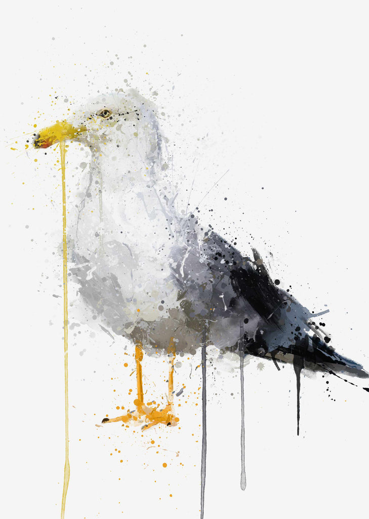 Seagull Bird Wall Art Print