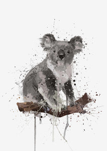 Koala Bear Wall Art Print