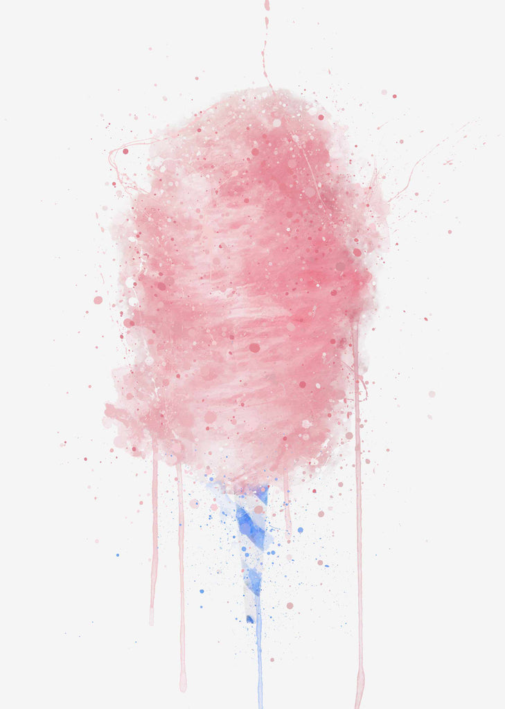 Candy Floss Wall Art Print