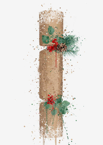 Christmas Cracker Wall Art Print