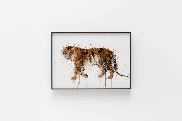 Tiger Wall Art Print
