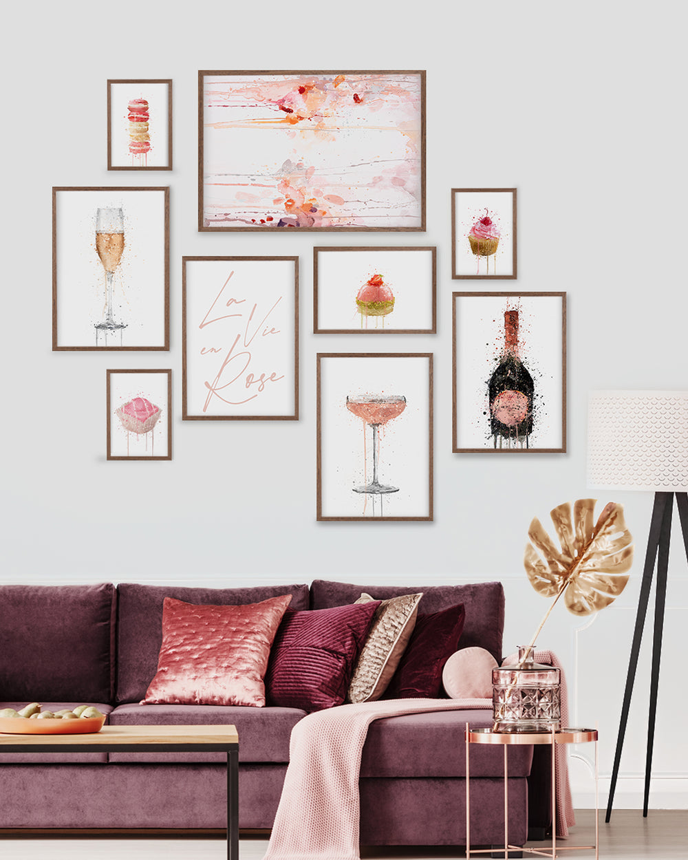 Afternoon Tea Gallery Wall Set