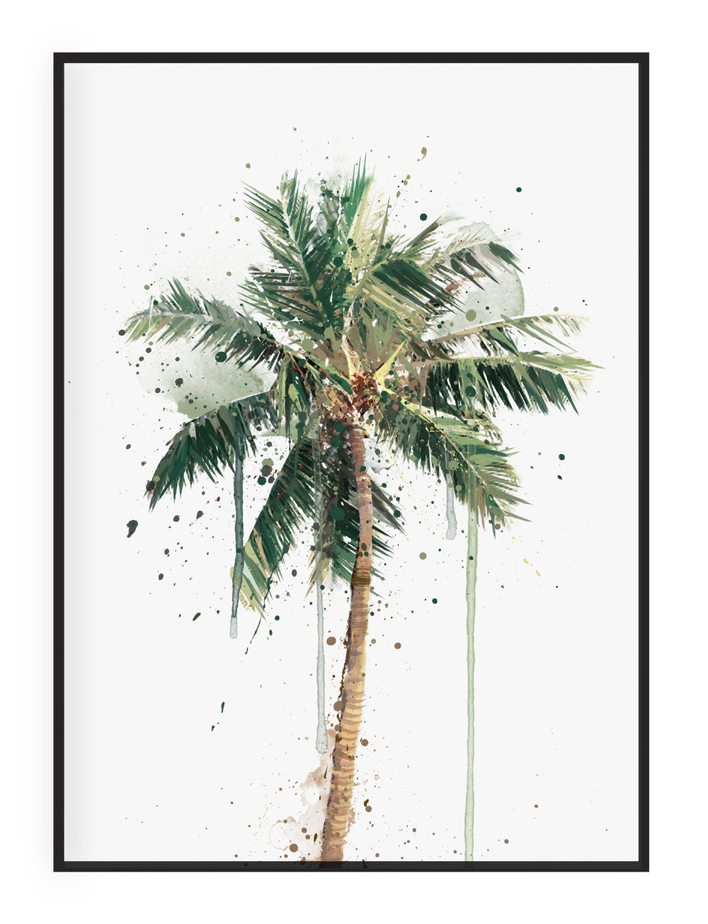 Botanical Wall Art Print 'Palm Tree'