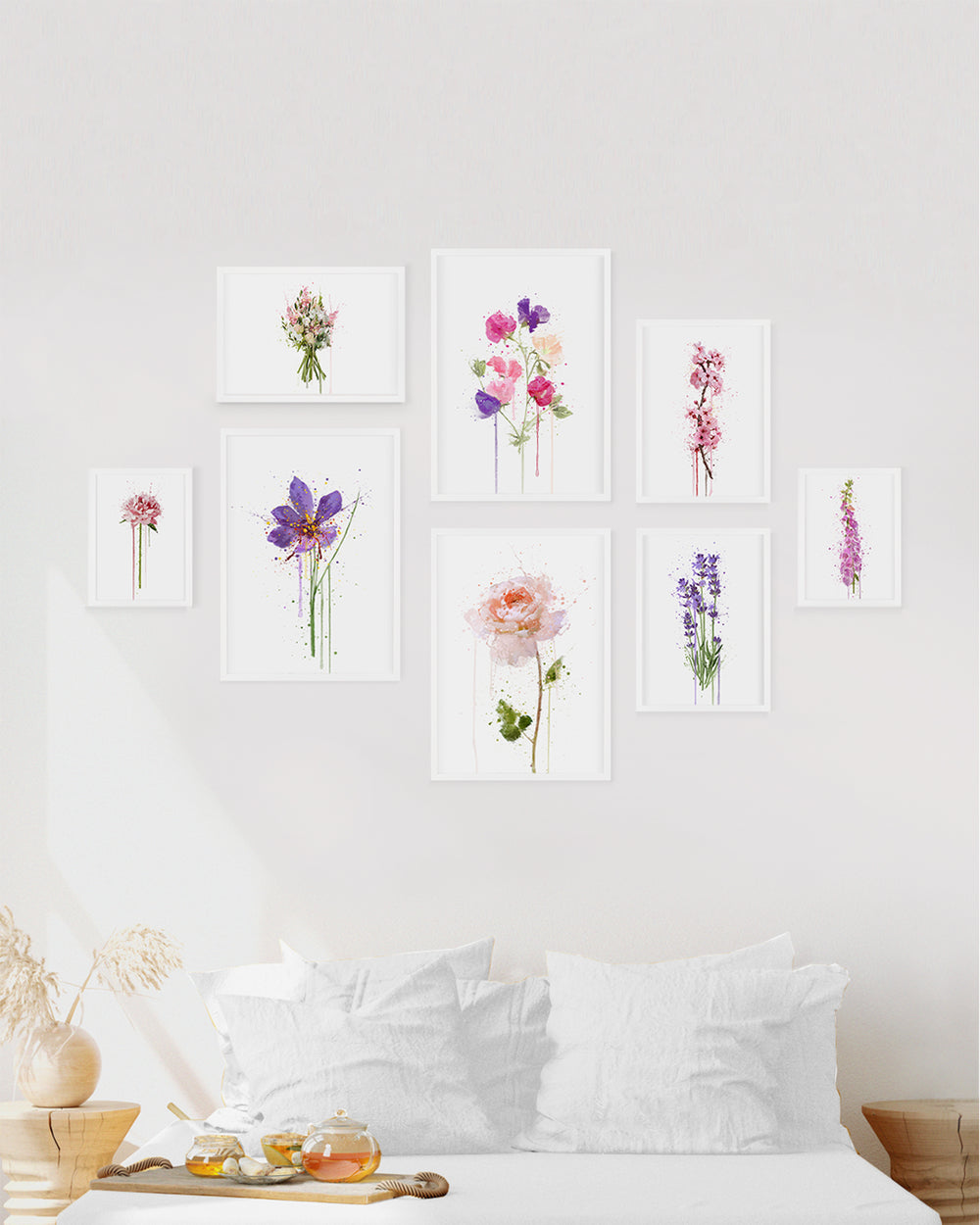 Floral Gallery Wall Set