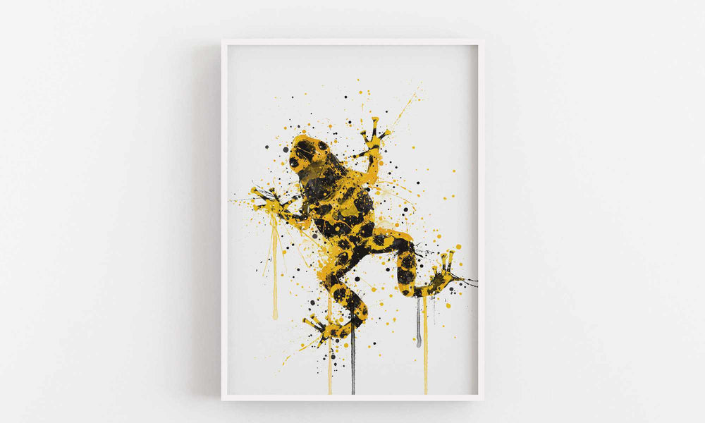 Frog Wall Art Print 'Poison'