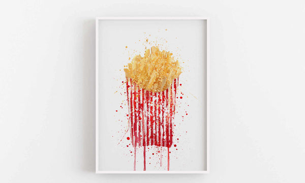 French Fries Wall Art Print