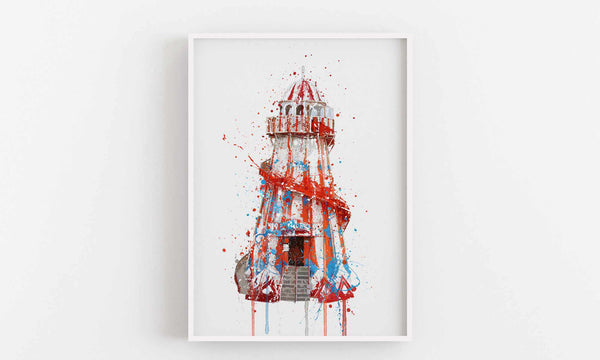 Helter Skelter Wall Art Print