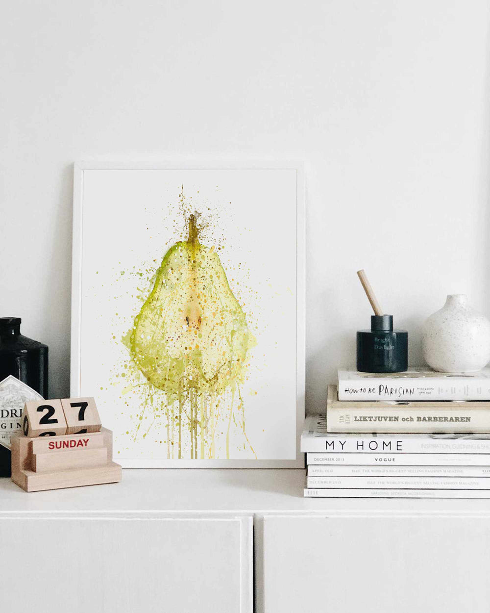 Pear Fruit Wall Art Print