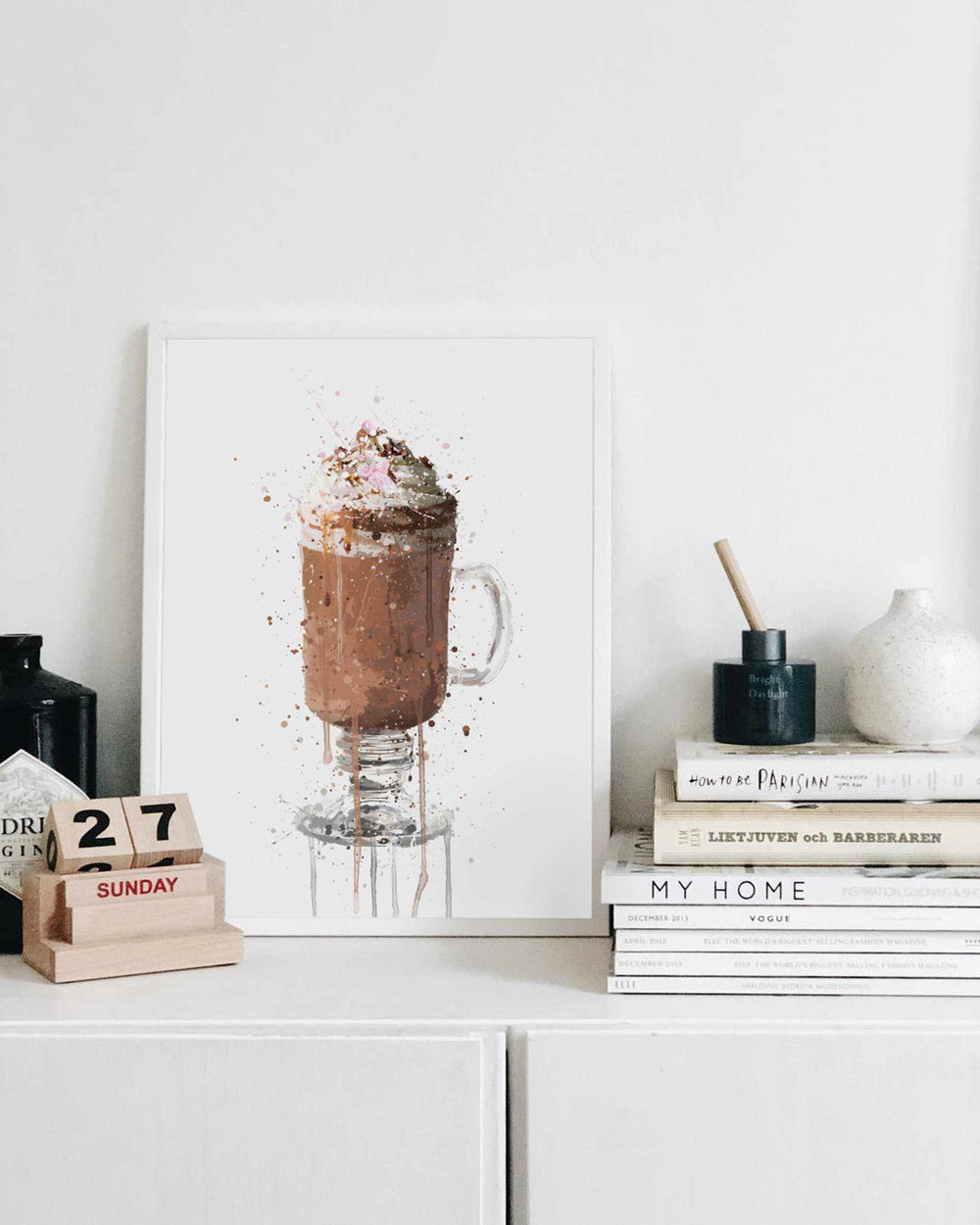 Hot Chocolate Wall Art Print