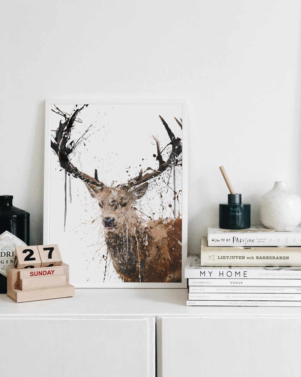 Stag Wall Art Print