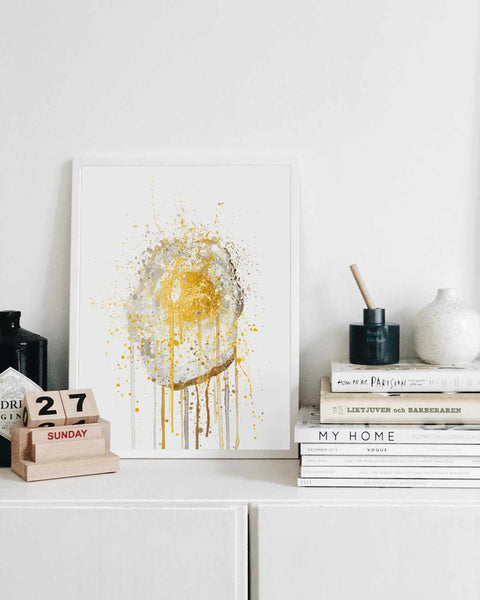 Runny Egg 2 Wall Art Print