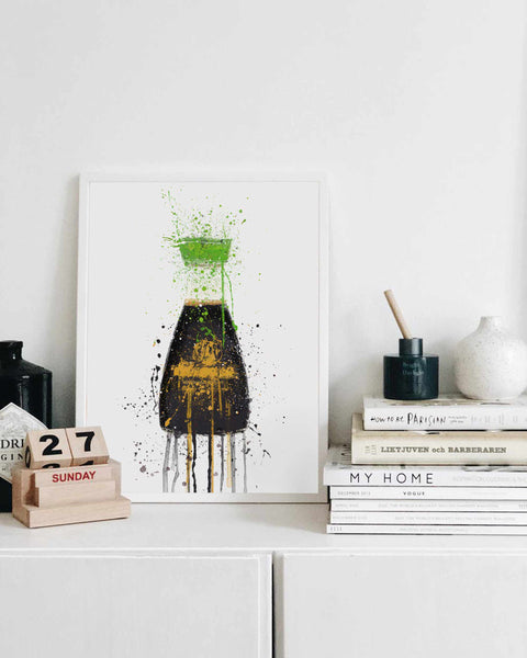 Soy Sauce Reduced Salt Wall Art Print