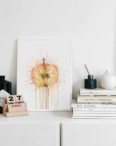 Apple Fruit Wall Art Print