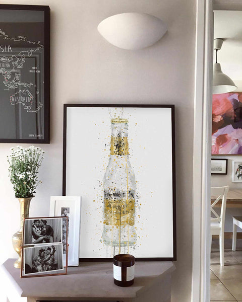 Liquor Bottle Wall Art Print 'Tonic'-We Love Prints
